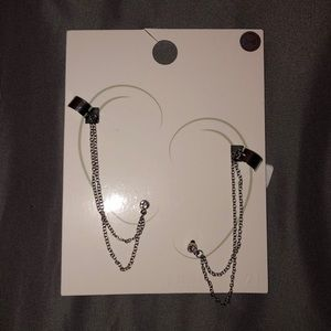 Forever 21 Jewelry - Brand new chain ear cuffs